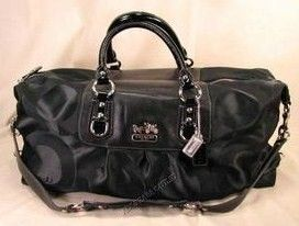Coach Signature Sabrina Travel Bag 12959 Black