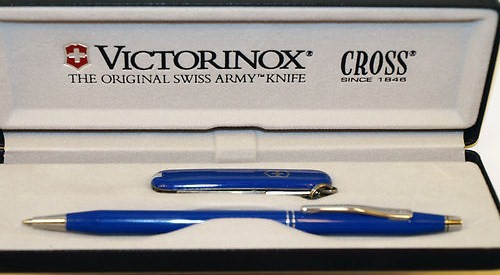 Cross Victorinox Ballpoint Pen/Swiss Army Knife