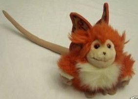 Captain EO Fuzzball Plush Toy