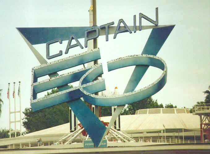 Captain EO Logo at Disneyland