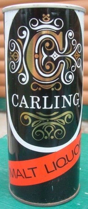 Carling Malt 16 oz Zip Top Can 1962