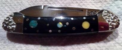 Case XX Custom Brian Yellowhorse/Baby Butterbean Pocket Knife