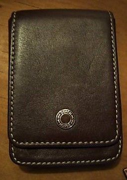 Coach Brown Leather Classic Card Holder