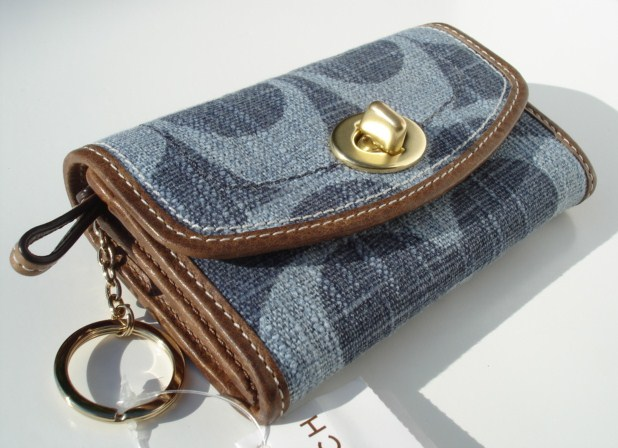 Coach Denim Multi Wallet