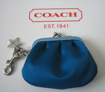 Coach Fabric Change Purse 92424