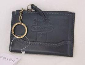 Coach Leather Bleecker Mini Skinny
