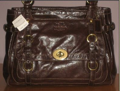 Coach Leather Legacy Brown Style 12705