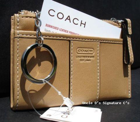 Coach Leather Mini Skinny Back 3484