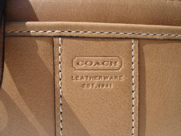 Coach Leatherware Embossing Close up 3484