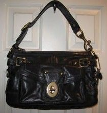 Coach Legacy Leather Black Purse