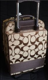 Coach Luggage on Coasters Khaki Signature 77022
