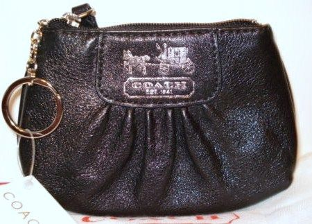 Coach Madison Black Leather Mini Skinny 41971