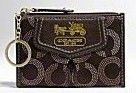 Coach Madison Dotted Mini Skinny Wallet 44439