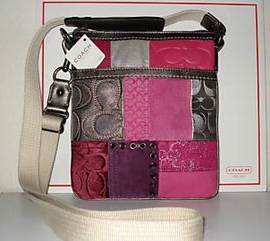 Coach Patchwork Swing Pack Purse