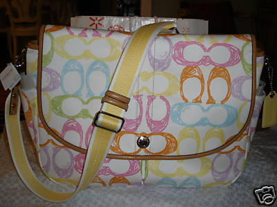 Coach Scribble Messenger Bag