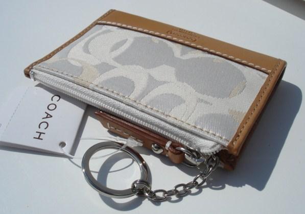 nearest coach outlet 9x33  coach card holder keychain