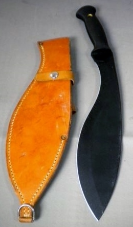Cold Steel Machete Style Fixed Blade Kukri Knife w/Seath