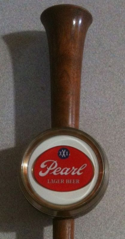 Collectible Pearl Beer Tap Pull