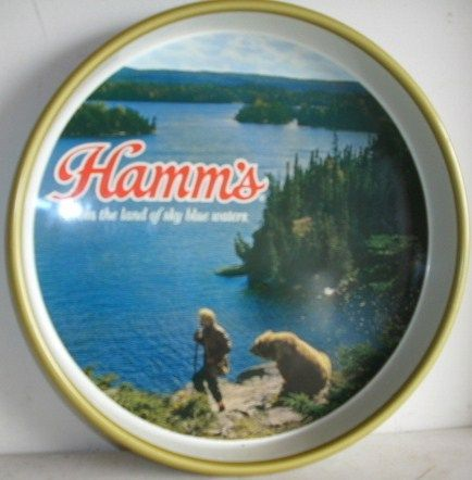 Collectible Old Hamm's Beer Serving Tray