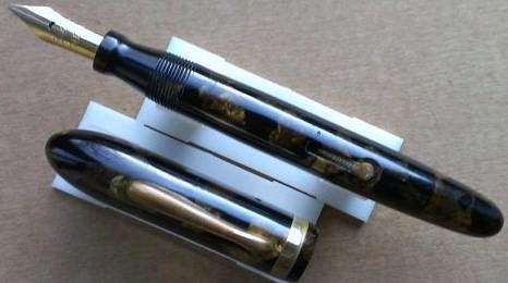 Conklin Endura Symetrik Fountain Pen Ditto Gold Nib Slightly Flexible Bronze