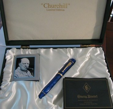 Conway Stewart Churchill Limited Edition Rollerball