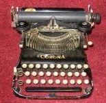 Corona Famous Model 3 Typewriter