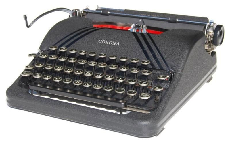 Corona Sterling Portable Typewriter