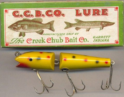 Creek Chub Bait Company 4914 Jointed Darter w/Box
