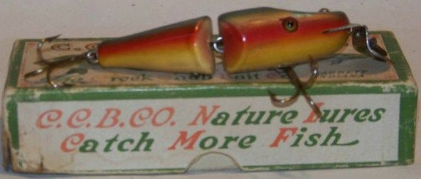Creek Chub Rainbow Baby Jointed Pikie in Box 2708