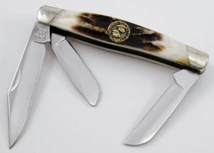 Stockman Design/Custom Lmt Edition Buck 301 Folding Pocket Knife