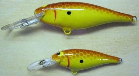 Custom Painted Rapala Shad Rap SR-5 & SR-7 Fishing Lures