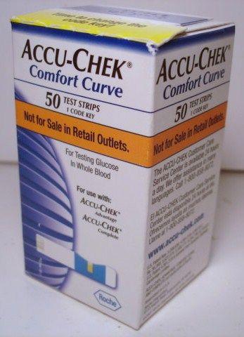 Accu Chek Comfort Curve 50 Count