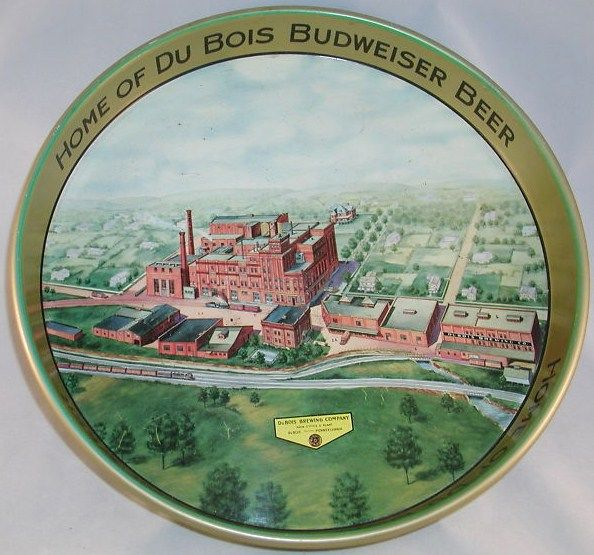 Dubois Budweiser Beer Vintage Advertising Tray