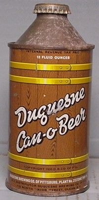 Duquense Can-O-Beer HP Conetop