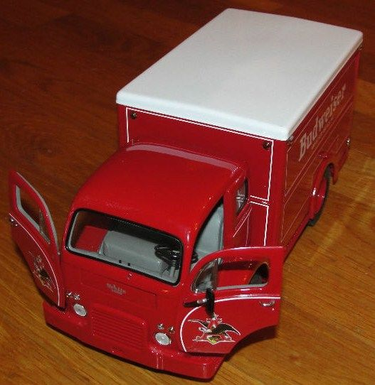 Danbury Mint Diecast 1955 Budweiser Delivery Truck Red