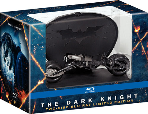The Dark Knight Blu-Ray Limited Edition Batpod