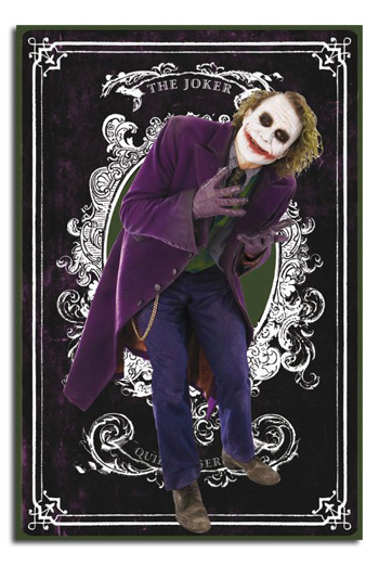 Dark Knight Joker Card