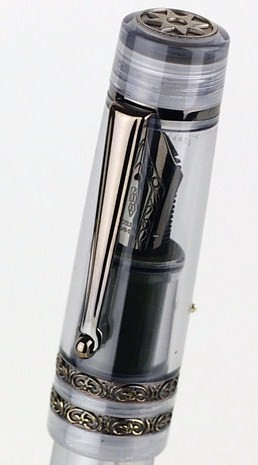 Delta Dolce Vita Stantuffo Gray Shadow Demonstrator Limited Edition-Cap View