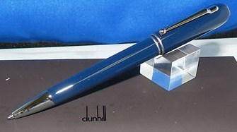 Dunhill Side Car True Navy Cap & Barrel Fount Pen New