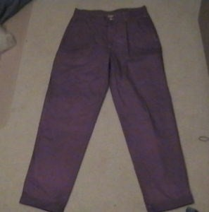 Dyed Purple Joker Costume Pants