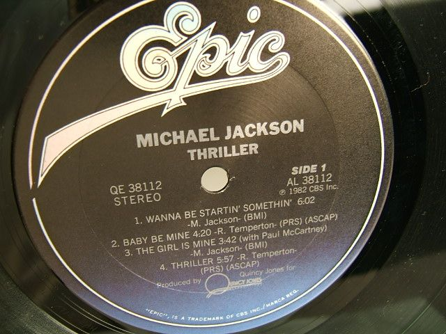 Epic Thriller LP Close up Center Front