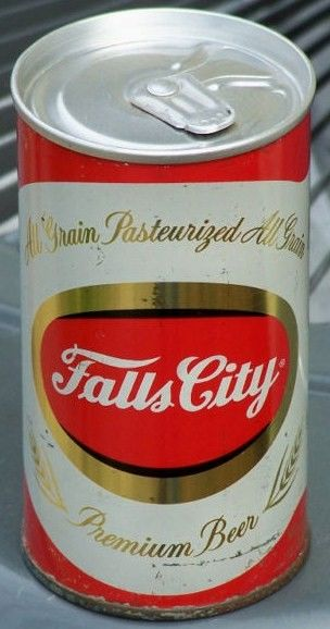 Falls City Zip Pull Tab Beer Can Louisville, KY