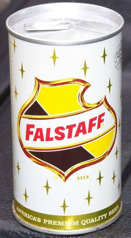 Falstaff Zip Tab Top Beer Can Omaha Nebraska