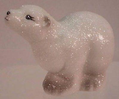 Fenton Glistening Woods Polar Bear