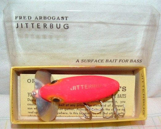 Fred Arbogast Jitterbug Rare Color w/Box NOS