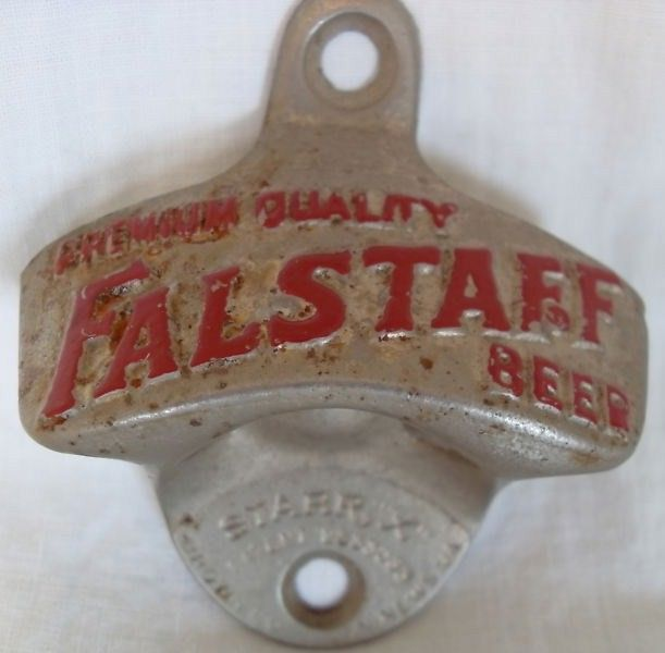 Falstaff Wall Counter Mount Beer Opener Starr