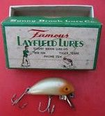 Famous Layfield Lures 102 Mint w/Box Tyler Texas