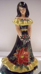 Fenton OOAK Bridesmaid Black Doll