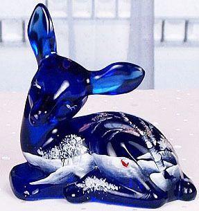 Fenton Cobalt Blue Fawn