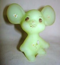 Fenton Mouse Custard Satin Front